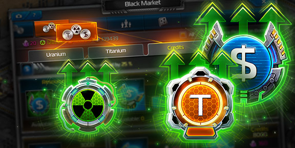 Total Domination - Improved Black Market!