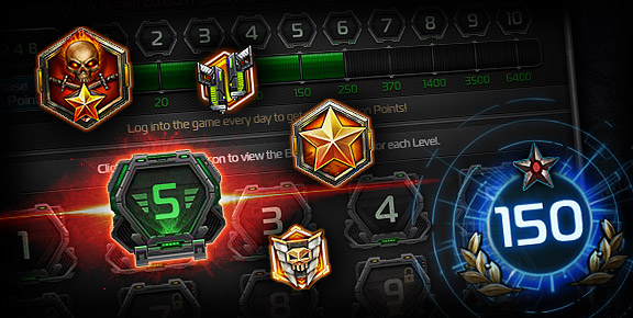 Total Domination - Receive Echelon Points in Various Game Events!