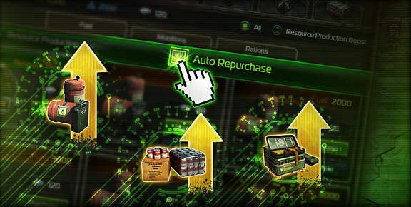 Total Domination - You can now automatically repurchase Resource Production Boosts!