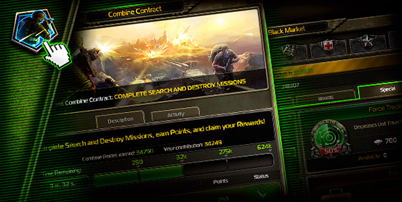 Soldiers Inc. - Combine Contract Reward Updates!