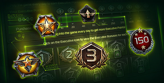Soldiers Inc. - Receive Executive Points in Various Game Events!
