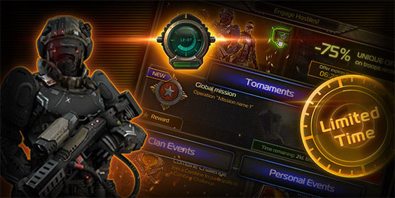 Soldiers Inc. - Take Advantage of Timed Events!
