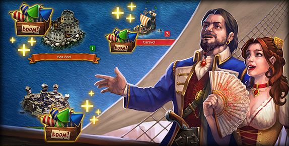 Pirates: Tides of Fortune - Trial by Fireworks!