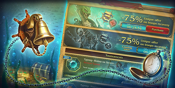 Pirates: Tides of Fortune - Take Advantage O' Timed Events!