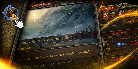 Stormfall: Age of War - Complete New League Quests!
